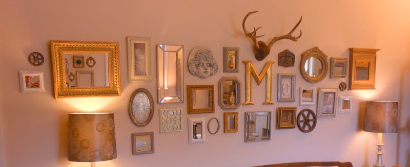 Revisionary Life: Make Your Own Faux-Faux Antique Mirrors