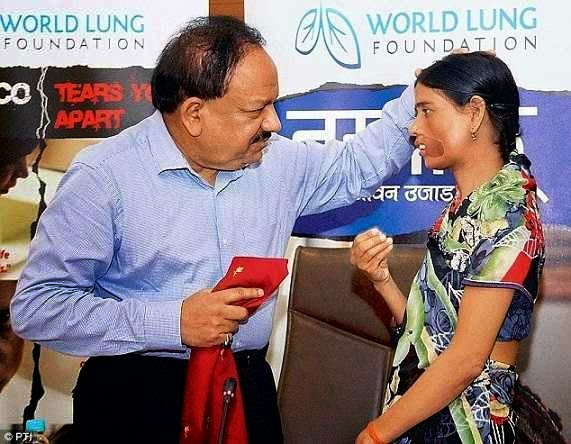 anti-tobacco campaign Sunita Tomar died on 1st April 2015