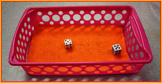 Guest blog post today from Mr. Greg who talks about Quiet Dice in Action!
