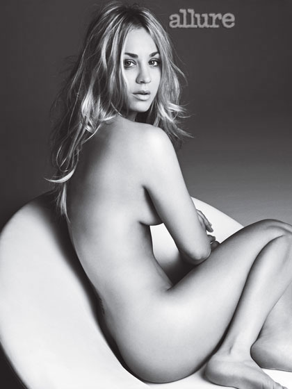 Kaley Cuoco , de The Big Bang Theory
