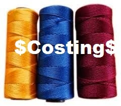 Costing of folded yarn