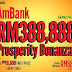 AmBank Prosperity Bonanza Contest : Wins RM388,888 Cash & more!