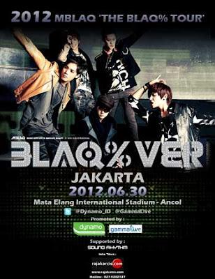 Harga Tiket Konser MBLAQ Jakarta Tanggal 30 Juni 2012