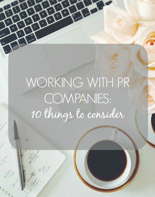 Working with PR companies, Tips for Working with PR companies, Blogging and PR, How To Work With PR Companies, Working with Public Relations Teams and their Clients