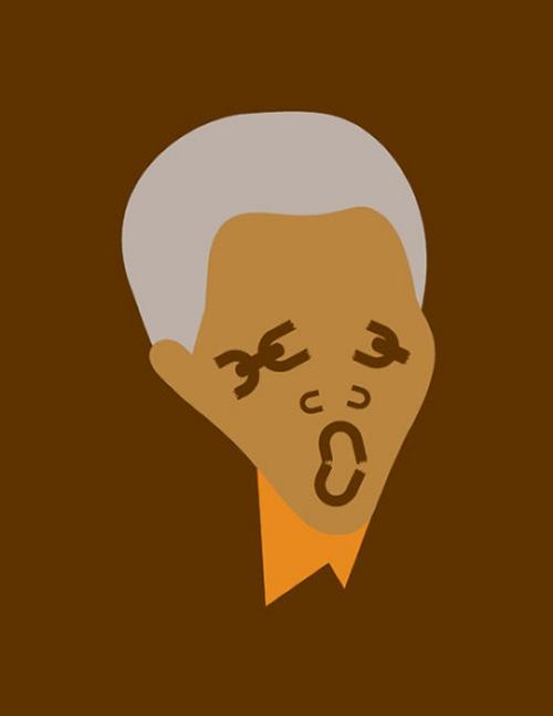 08-Nelson-Mandela-Apartheid-activism-Noma-Bar-Faces-Hidden-in-the-Symbolism-of-Illustrations-www-designstack-co