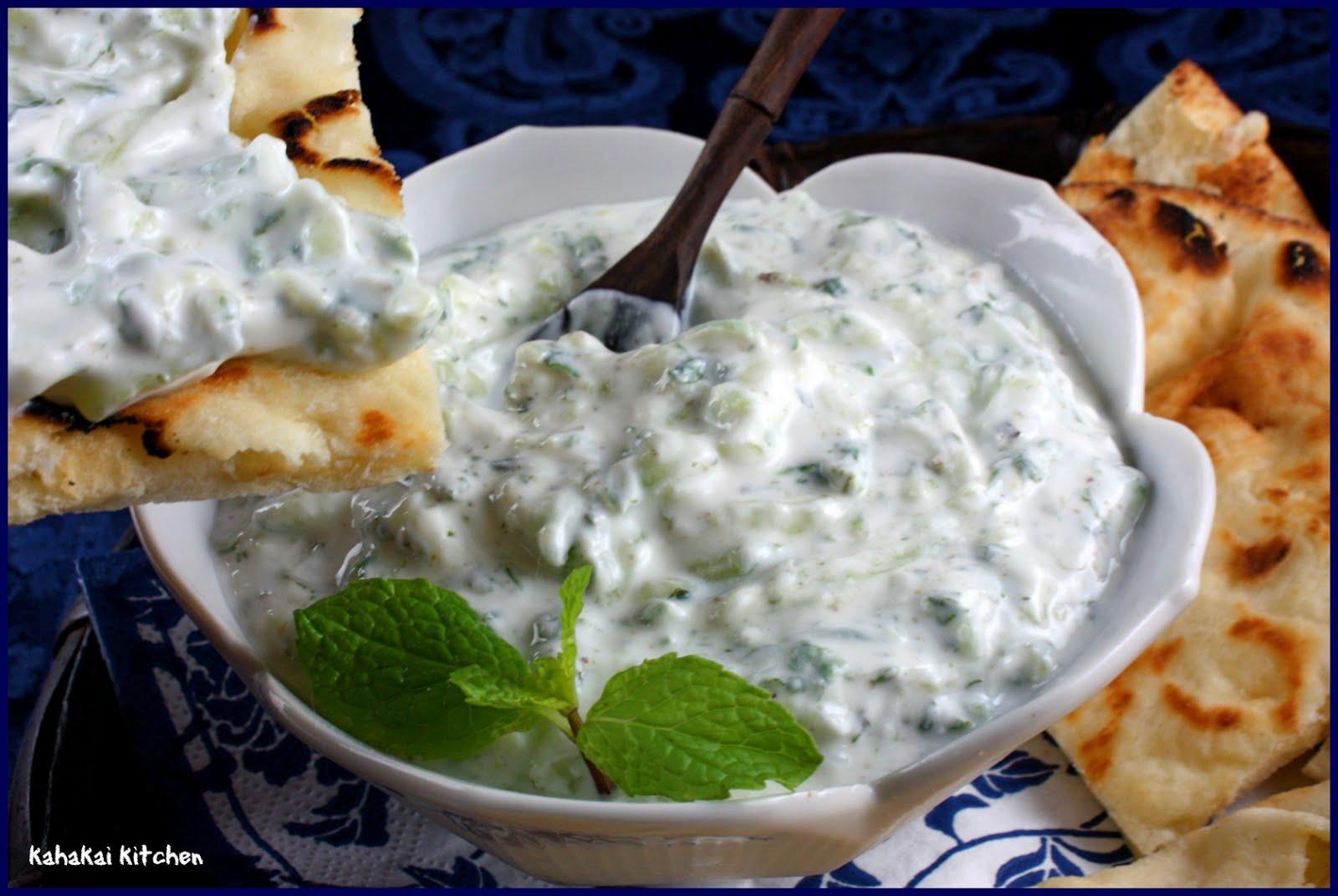 Kahakai Kitchen: Yogurt with Cucumber and Mint (Kheere ka Raita)
