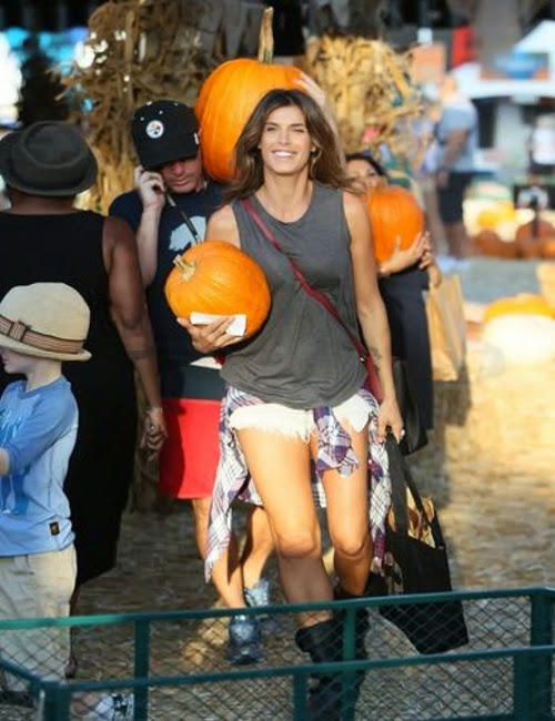 Elisabetta Canalis and Brian
