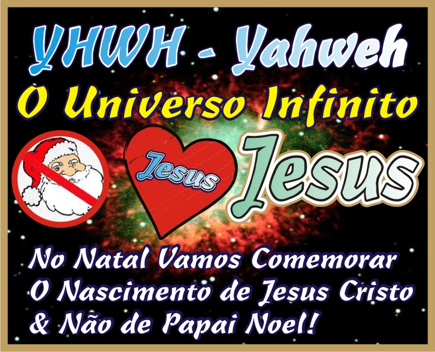 No Natal Vamos Comemorar O Nascimento de Jesus