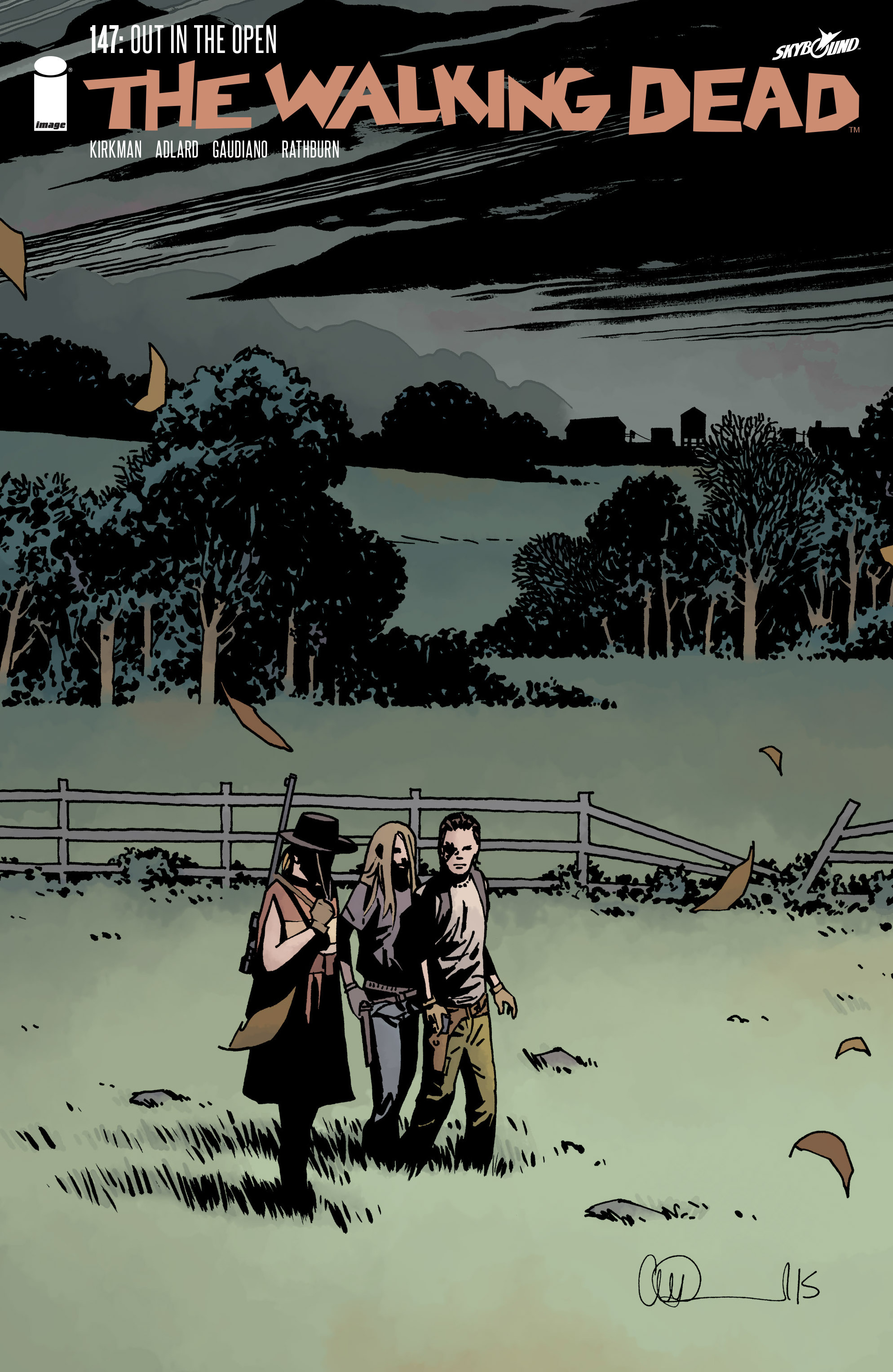 The Walking Dead 147 Page 1