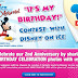 Kordel's Kid's It's My Birthday Contest with Disney on Ice