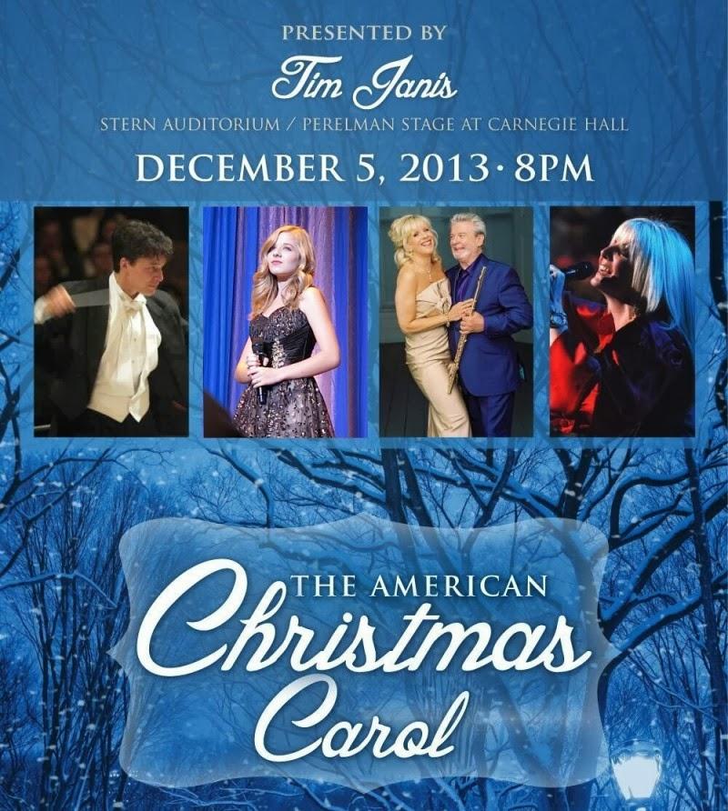 jackie evancho the american christmas carol at carnegie hall - American Christmas Carol