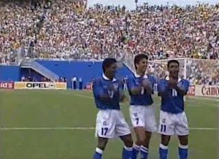 Bebeto, Romario, Mauro Silva, Estados Unidos 1994