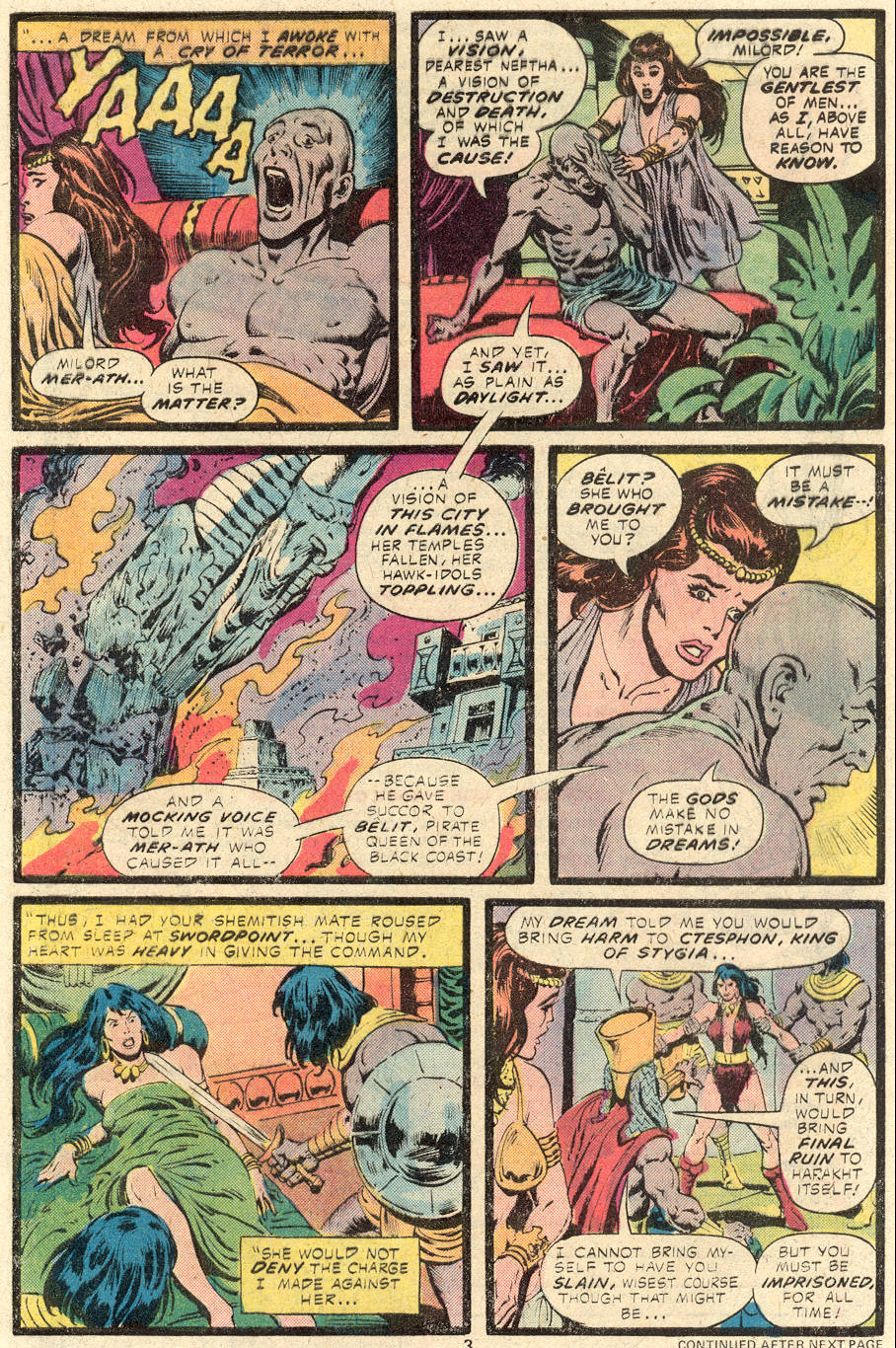 Conan the Barbarian (1970) Issue #84 #96 - English 4
