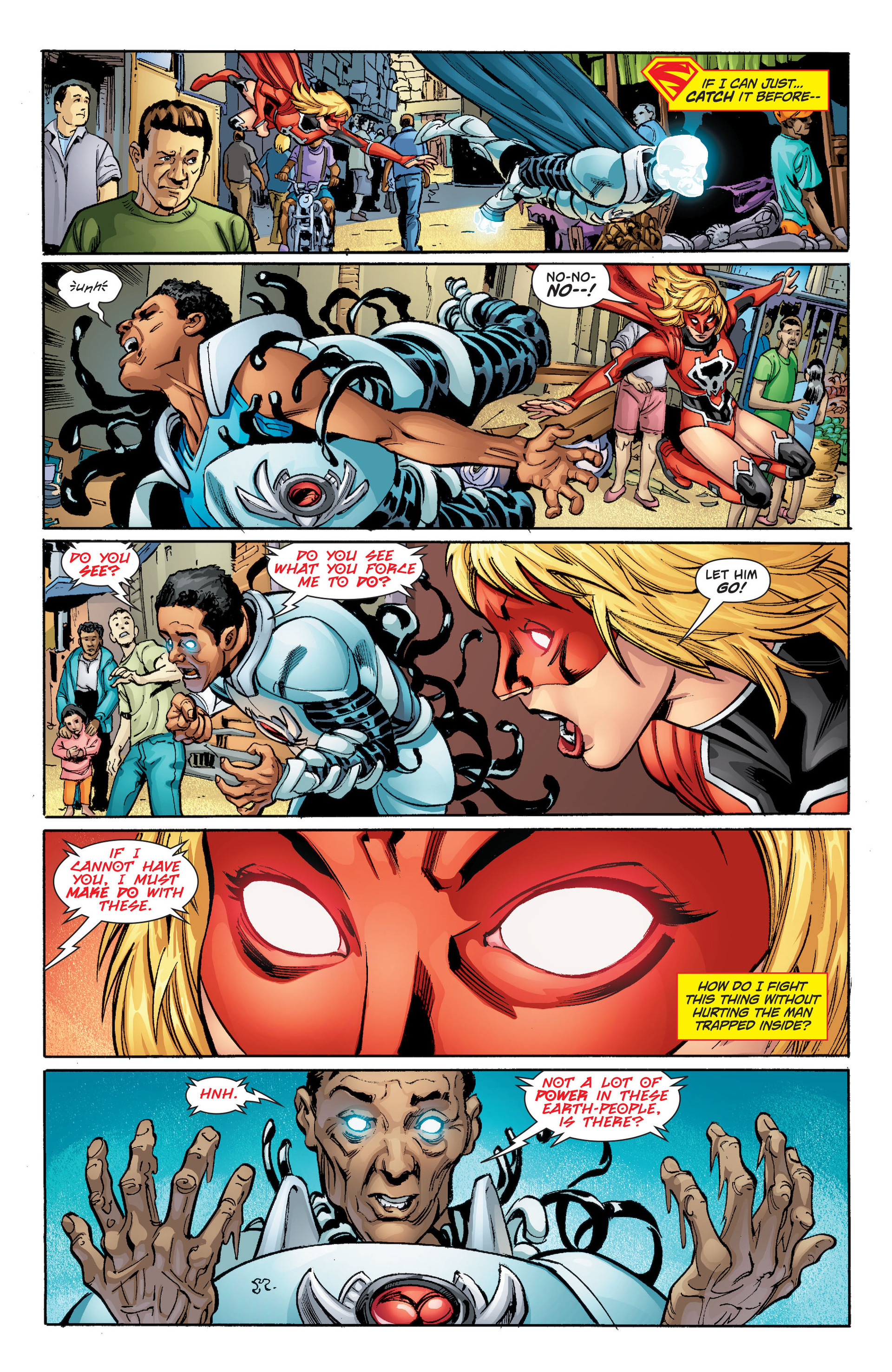 Supergirl (2011) Issue #33 #35 - English 6