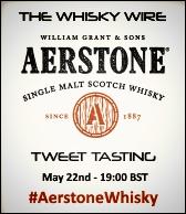 Aerstone Whisky Tweet Tasting