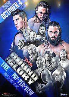 TNA - Bound for Glory 2015: Tigre Uno, Gail Kim, Roode y The Wolves mantienen su reinado. Tyrus es el nuevo aspirante y Angle se venga de Young. Matt Hardy campeón de la TNA