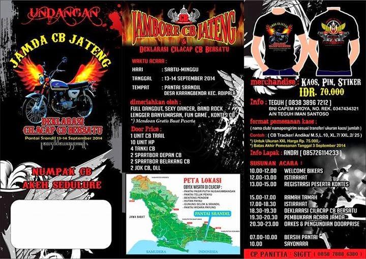 Acara Jambore Daerah (Jamda) CB Jateng Cilacap
