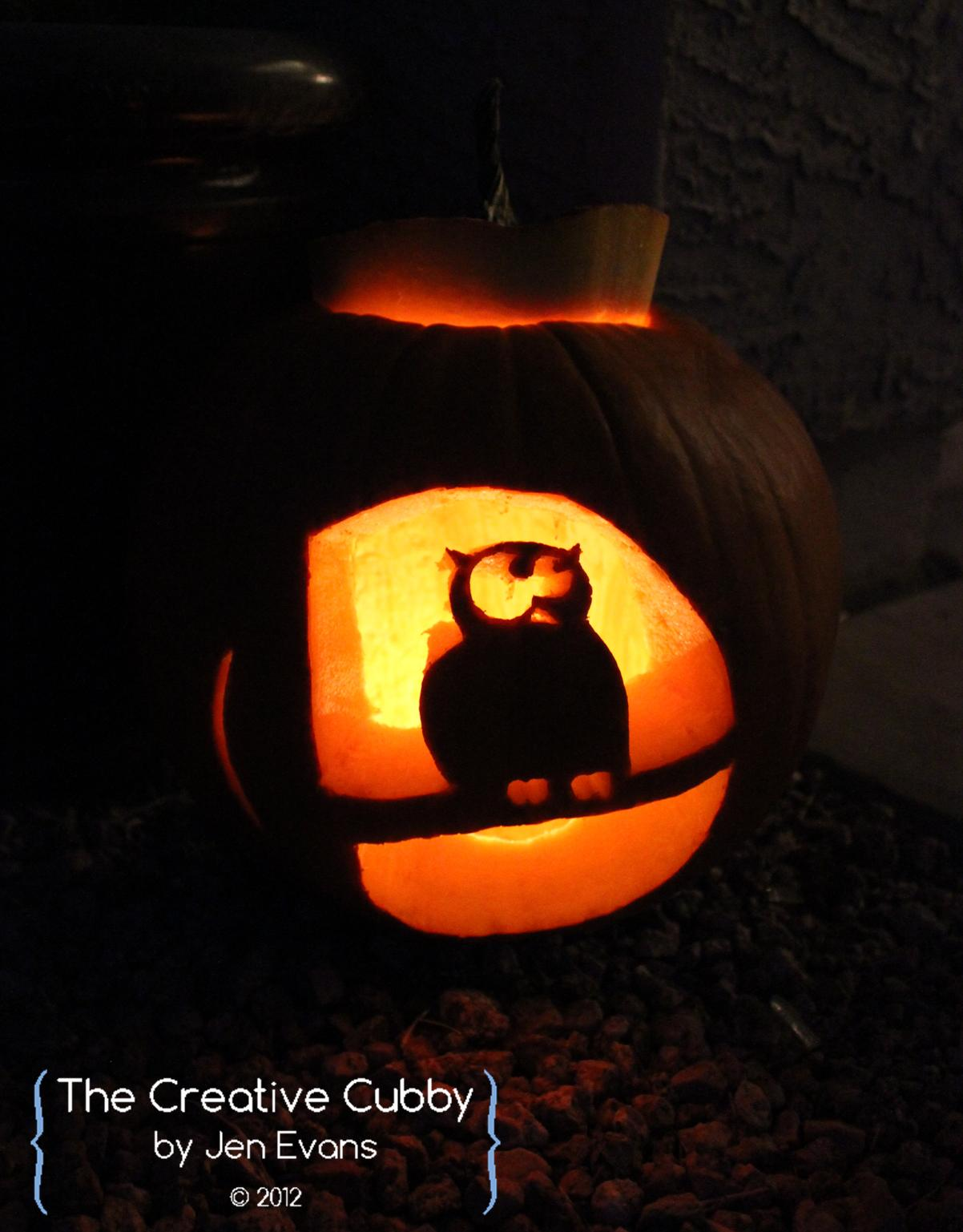 The Creative Cubby: How to Use Pumpkin Carving Templates