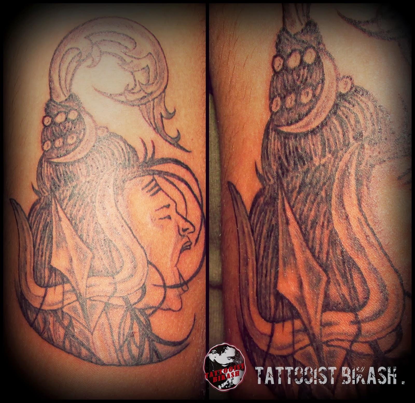 Lord Shiva Angry Angry lord shiva tattoo