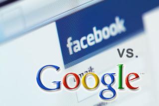 Facebook melawan Google