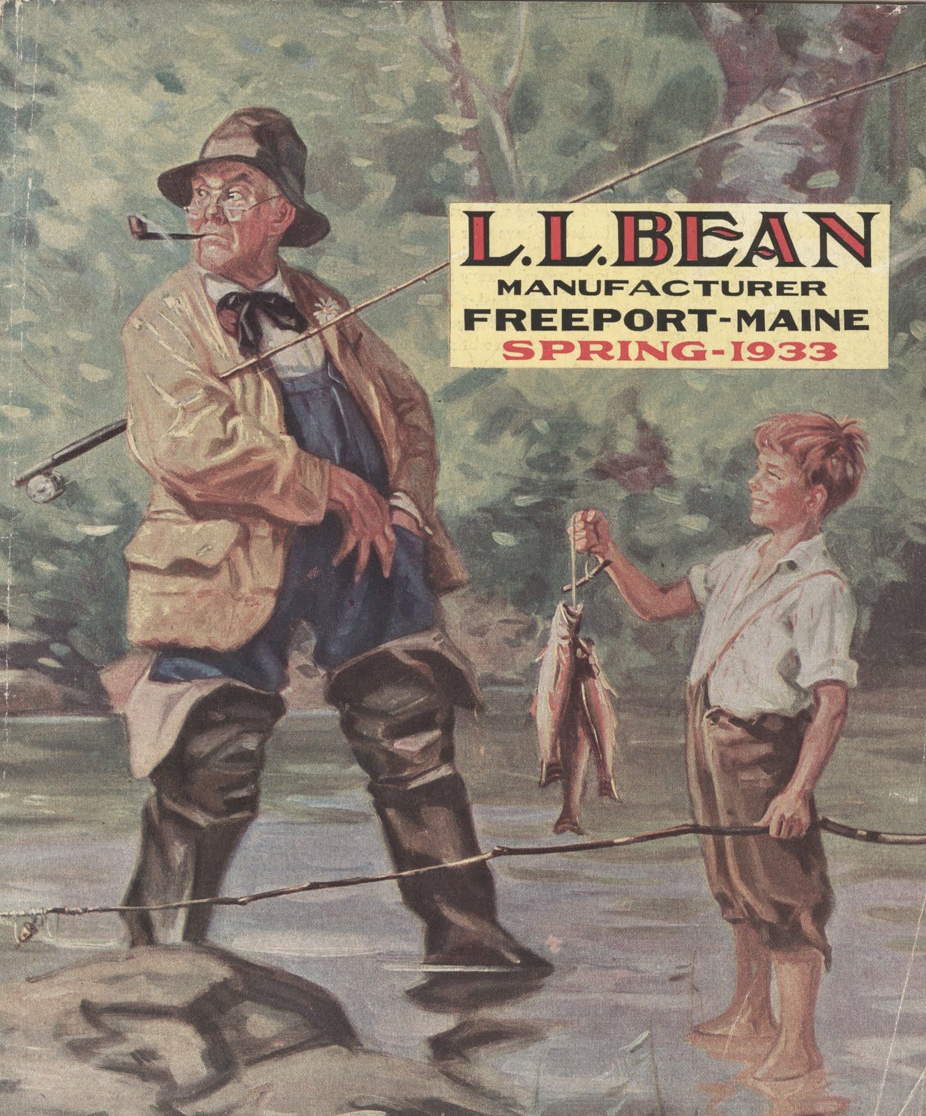 L l bean order form - I Just Received My Ll Bean Spring 1933 Catalog In The Mail Egregious Delivery Delays I M Forwarding Along To Archival Readers In Need Of Last Minute