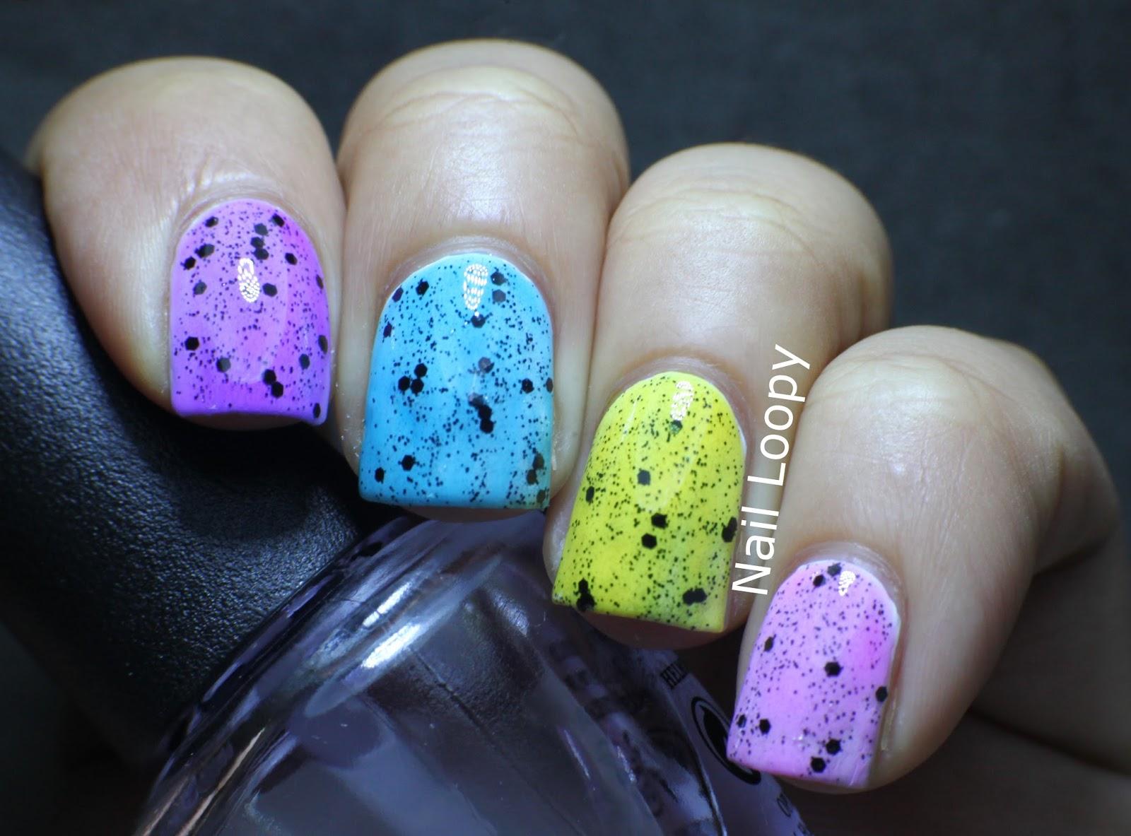 nail loopy: 10 NAIL ART DESIGNS USING OPI SHEER TINTS