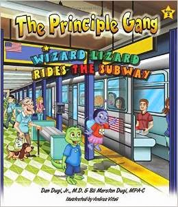 Wizard Lizard Rides the Subway cover