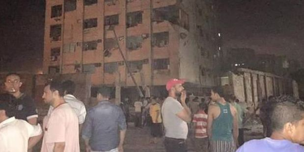 Large bomb explodes in the Shubra neighbourhood of Cairo, Egyptian security officials said