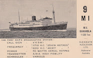 VK9MI 8th June 1938