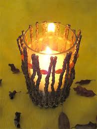 Chama da vela... fogo!