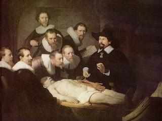 A Lição de Anatomia do Dr. Tulp, de Rembrandt