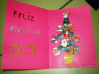 Maestra de infantil tarjetas de navidad hechas por ni os for Tarjetas de navidad hechas por ninos