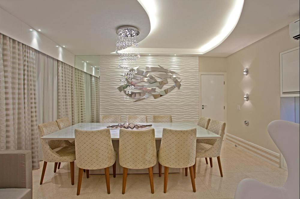Sala De Jantar Bege E Branca ~ decoracao sala branca e begeSalas de jantar brancas e off whites