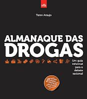 Capa do livro Almanaque das drogas, de Tarso Araujo
