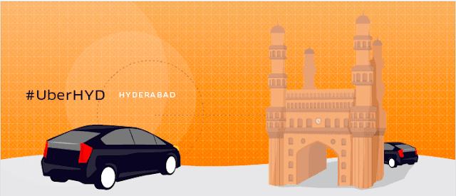 Uber in Hyderabad