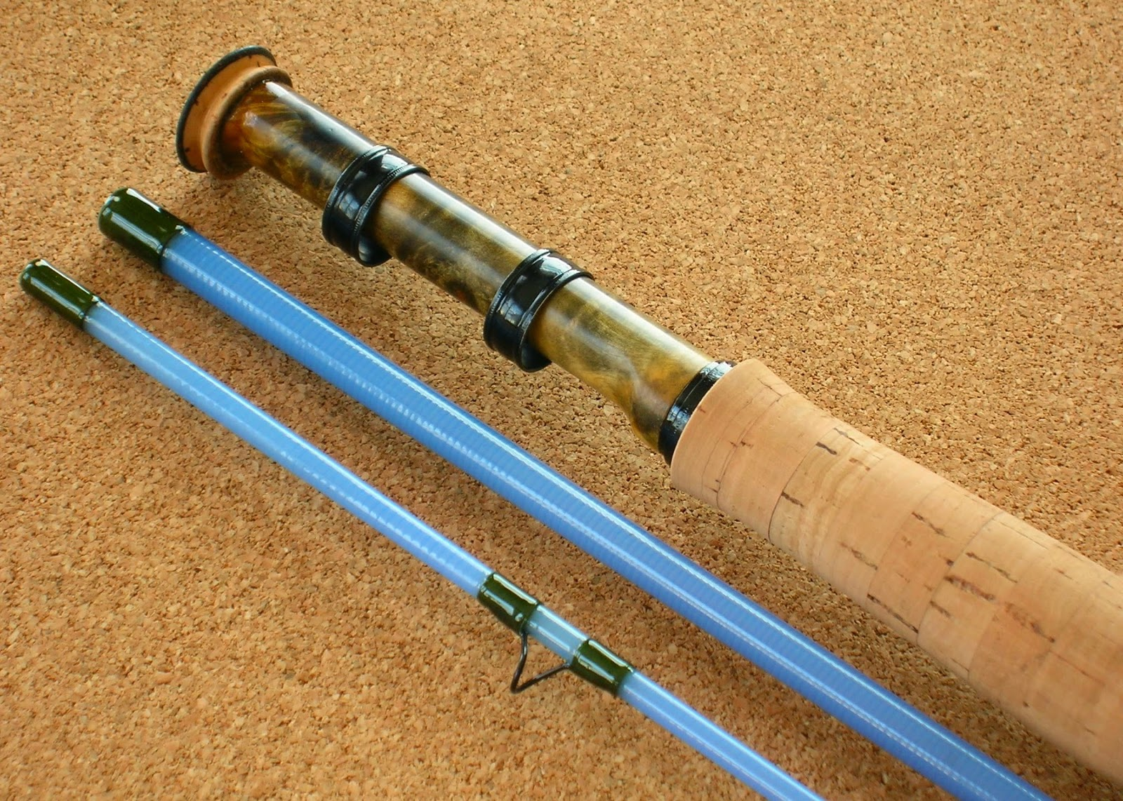 Blue halo rods related keywords blue halo rods long tail for Halo fishing rods
