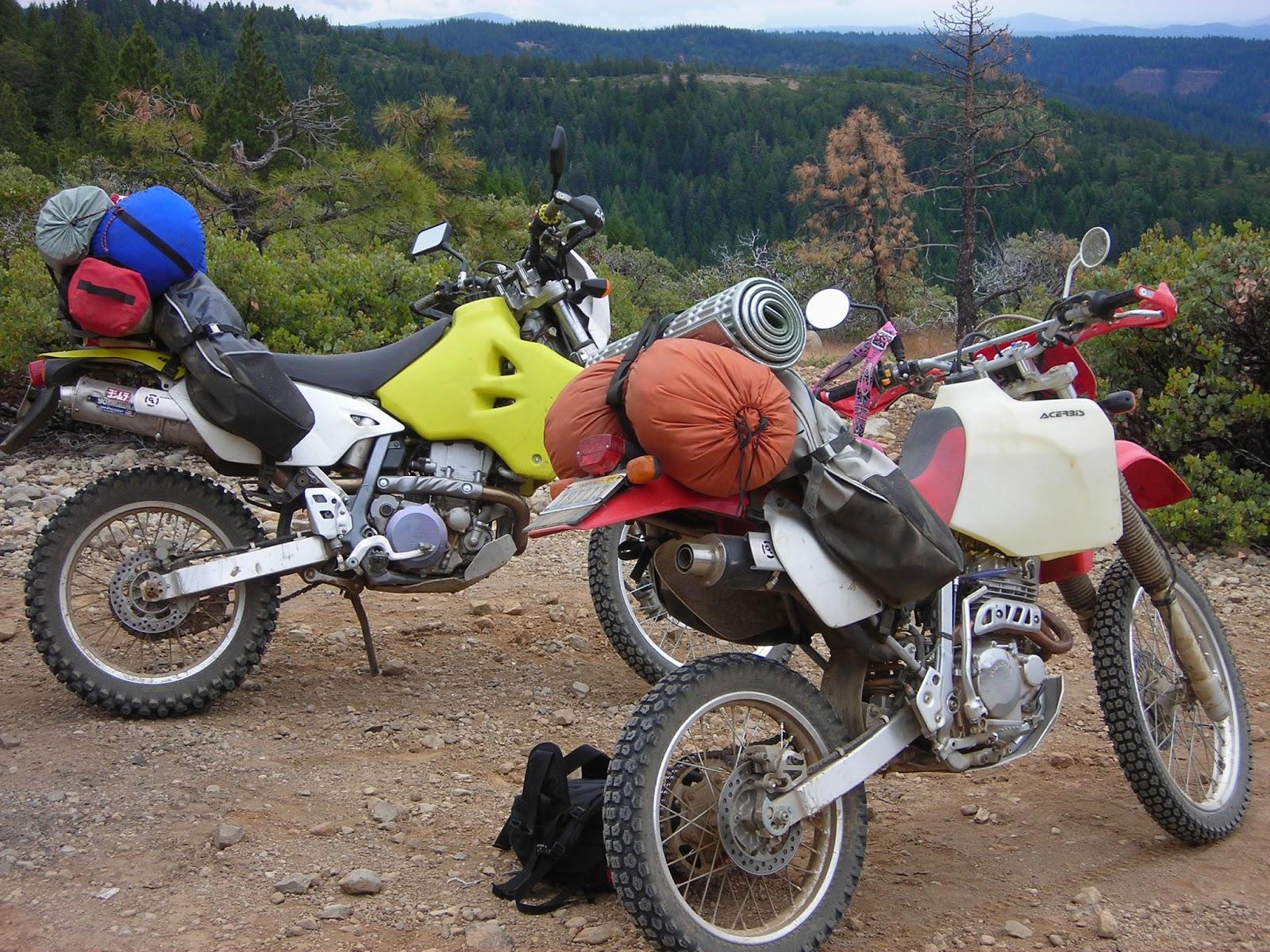 Suzuki Drz400e Specs >> Giant Loop Riders: 400+ miles on Suzuki DRZ400S and Honda XR250R with Coyote Saddlebag | Go ...