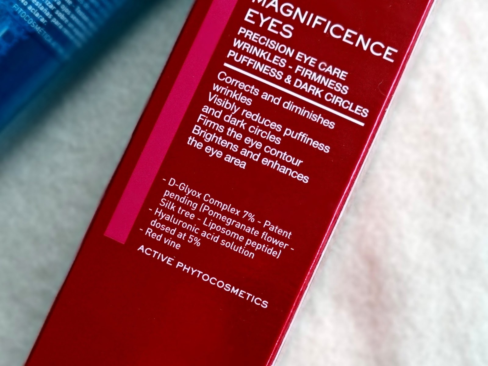 Magnificence Precision Eye Care Review, Photos, Anti Aging Eye Care fragrance free from Lierac