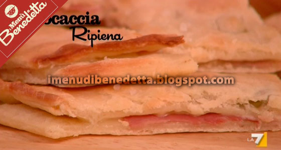 focaccia ripiena di Benedetta Parodi