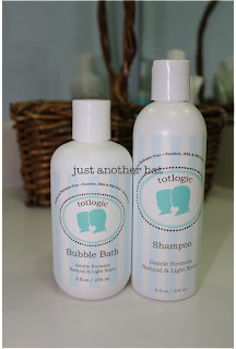 totlogic shampoo and bubble bath