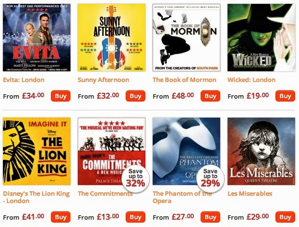 LATEST THEATRE DEALS