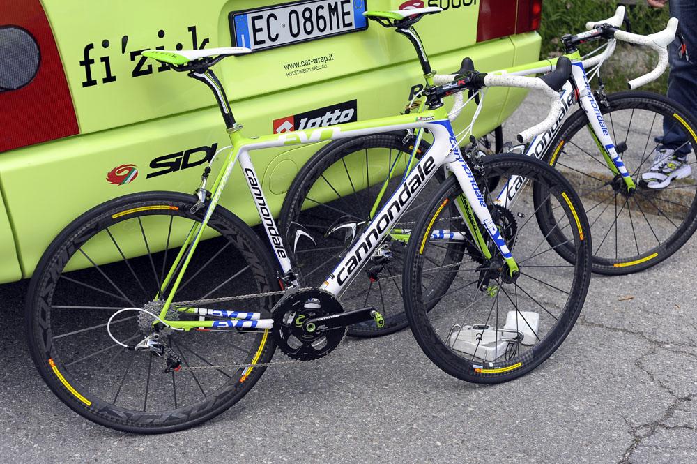 Ivan Basso y su Cannondale SuperSix EVO | +Cadencia