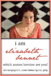 EU SOU, segundo Jane Austen...