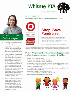 Whitney PTA December newsletter - page 2