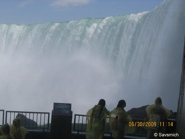 Behind the falls tour