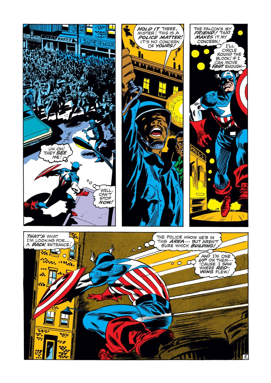 Captain America (1968) Issue #126 #40 - English 6