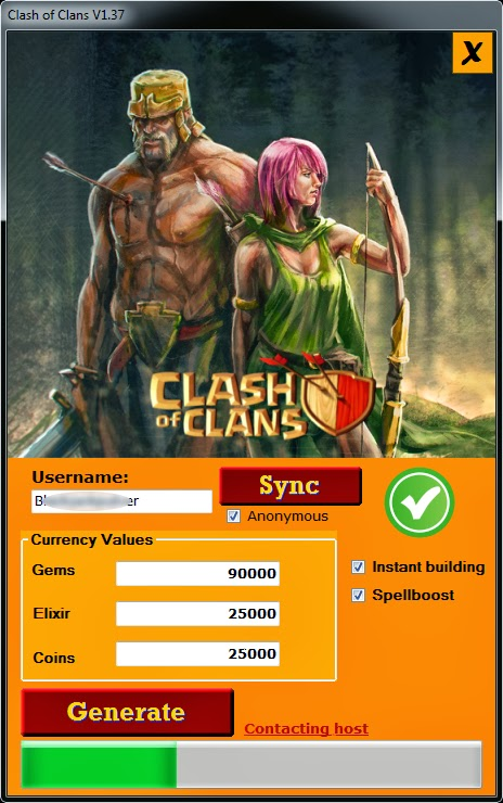 Coc Hacking Tool  All about loving each other