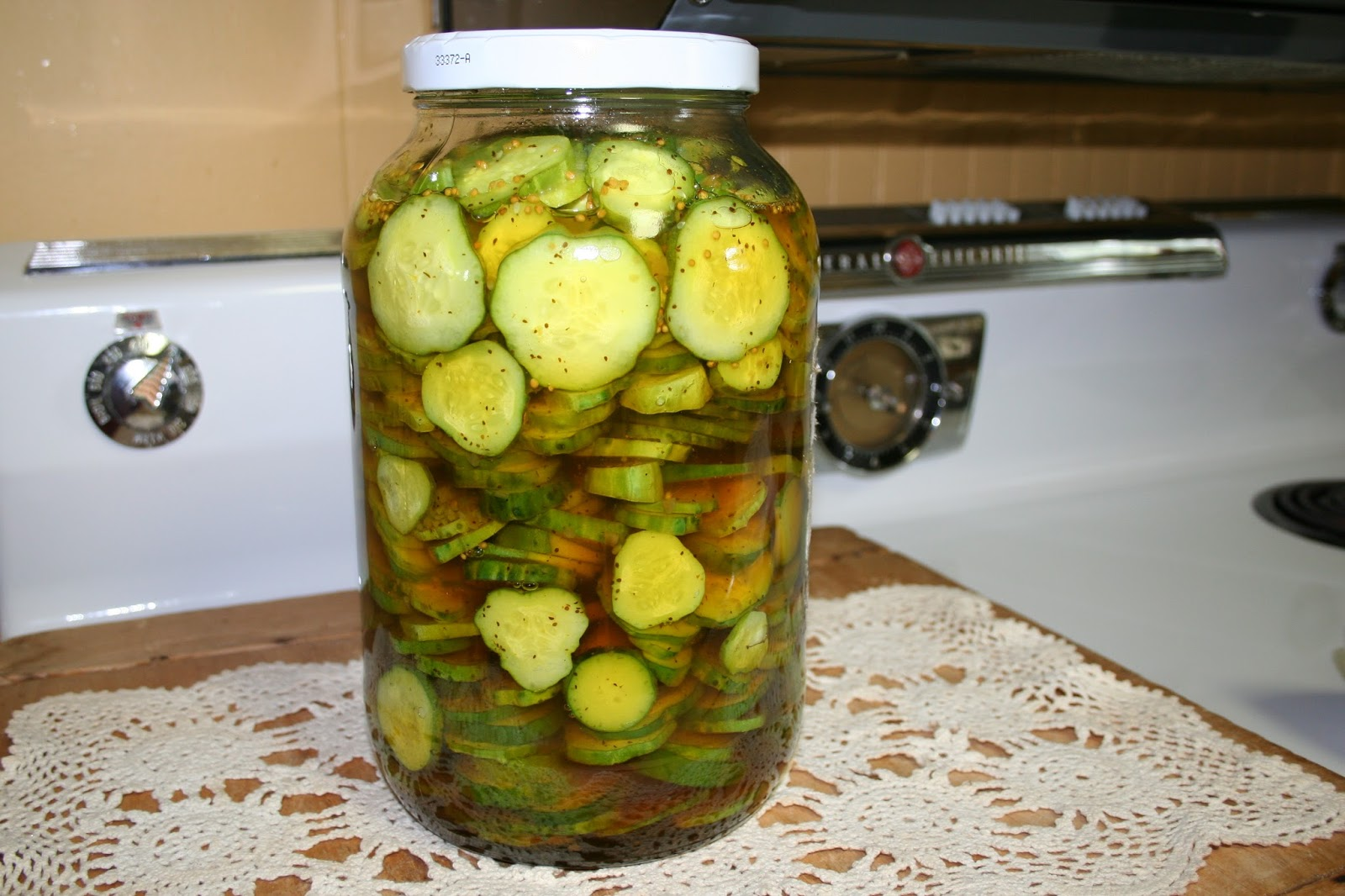 ... scratch poultry: Easy Refrigerator Pickles - Bread and Butter pickles