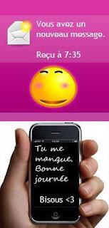 SMS d'amour pour mobile