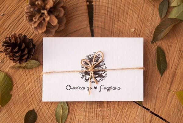 tarjeta de bodas creativas